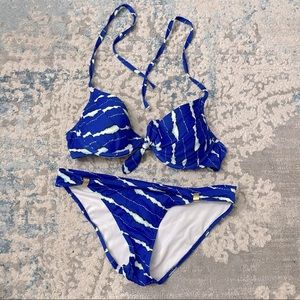 Bogart Two Piece bathing suit with push up bra